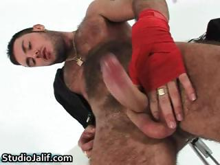 Macanao Torres fingering his tight part