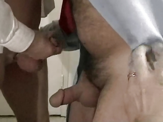 Older Mature Masturbating