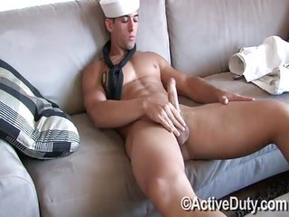 Kaseys Uniform merely - Free Gay Porn about to Activeduty - movie scene 114486