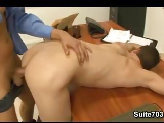 Office Old And Young Anal