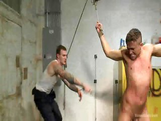 Christian Wilde further Leo Sweetwood - Free Gay Porn near to Boundgods - video 124454
