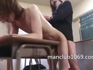 Asian teacher fuck his student