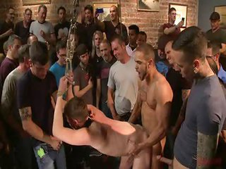 Dakota Wolfe too Brock Avery - Free Gay Porn on the verge of Boundinpublic - clip 124296