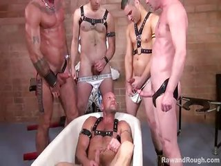 Fetish Gangbang Groupsex