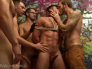 Forced Fetish Gangbang