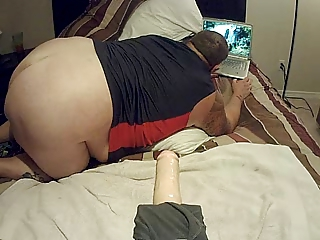 Solo Chub Riding Dildo