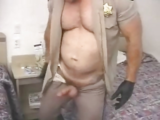 Cock Hungry Police sc.    bear cop