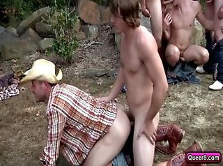 blowjob, homosexual, hunks, nude, outdoor