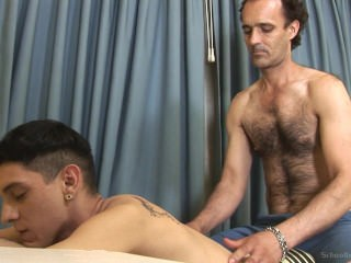 Daddy Old And Young Massage