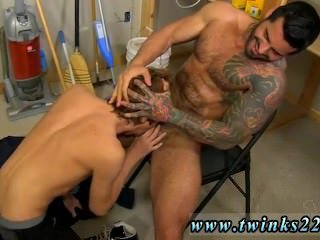 Middle age gay bjs porn galleries Kyler Moss sneaks into the janitor's
