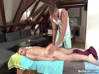 Anal Sex prostate massage - not quite 1 - Free Gay Porn from Bigdaddy - Video 126077