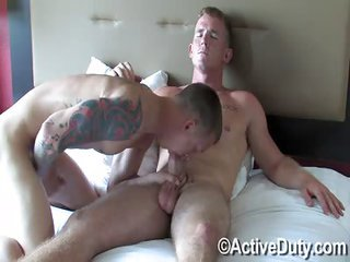 Corey as well James anal oral - Free Gay Porn close upon Activeduty - movie 124277