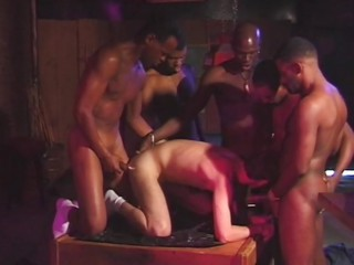 pitch-black Raven Gang Bang 2