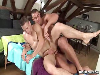 Anal Sex prostate massage - pretty near 3 - Free Gay Porn on the verge of Bigdaddy - vid 126090