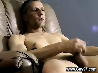 Gay cock fine omnisexual boy Chad was new to in any event this bu