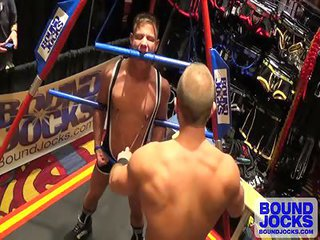 Dirk Caber along with Joseph rough whoppers - Free Gay Porn on the point of Boundjocks - eppy 126364