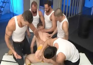 gay dicks love doing things in a group like anal sex
