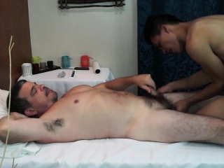 Hairy Daddy Asian