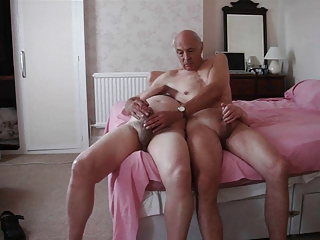 Older Small Cock Handjob