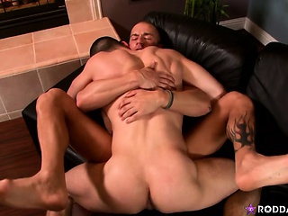 Rod Daily and Anthony Romero take turns fucking each other