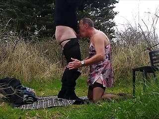 Video from: xhamster | Crossdressing Outdoor sex