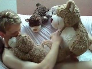 jerkvid teddy bear sex