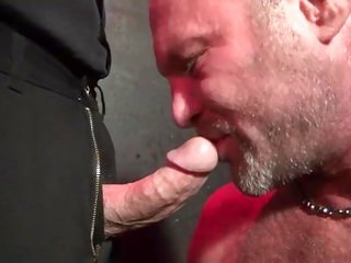 Older Big Cock Blowjob