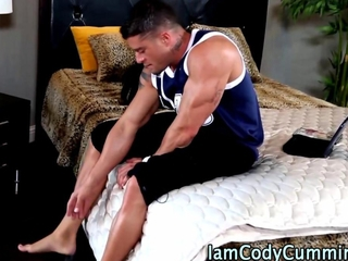 Muscly pornstar gets a hard dick HD