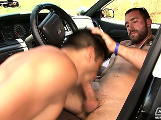 Deepthroat Car Blowjob