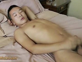 Asian Teen Masturbating
