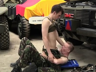 Army Amateur Blowjob