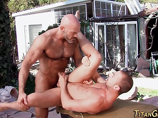 Daddy Outdoor Old And Young