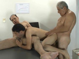 Daddy Old And Young Bareback