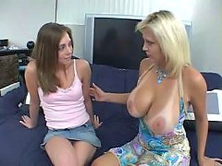 Family Mom Threesome