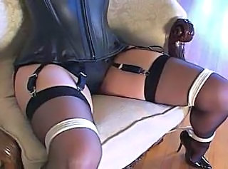 "Bondage not far from sexy stockings and conceited heels (black 6inch pumps)"" target=""_blank"