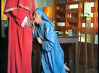 Nun Blowjob Clothed