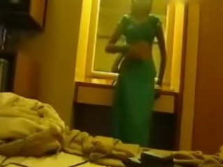 Video from: indiansex-xxx | Delicious brunette in a sexy traditional outfit shows her perfect body