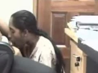 Video from: indiansex-xxx | Stunning secretary deepthroating her boss' big boner while at work
