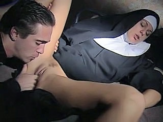Nun on touching action