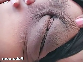 Chunky Tit Indian Swallows Her Pride