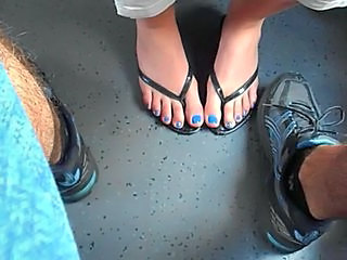 Blue Nails, Train Secret Foot...