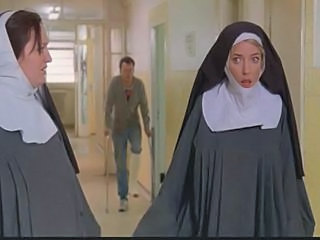 Nuns constrained up together with nude at the end of one's tether cops!
