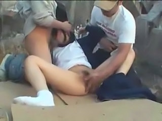 Asian Forced Hairy