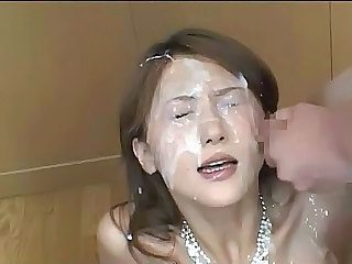 Perfect bukkake - Asian sex video -