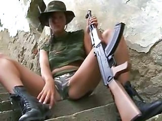 Army Babe Outdoor