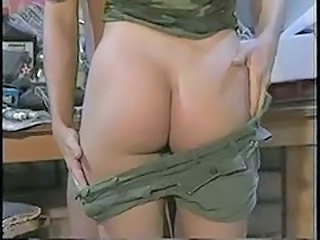 Army Ass Stripper