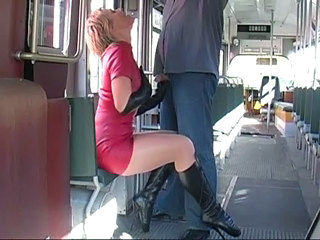 Latex Blonde Bus