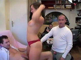 Three Dicks For A French Chick