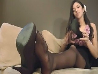 Asian Feet Pantyhose