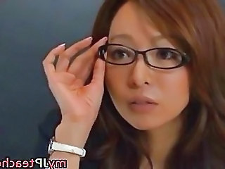 Kaori Hot Japanese Teacher Getti...
